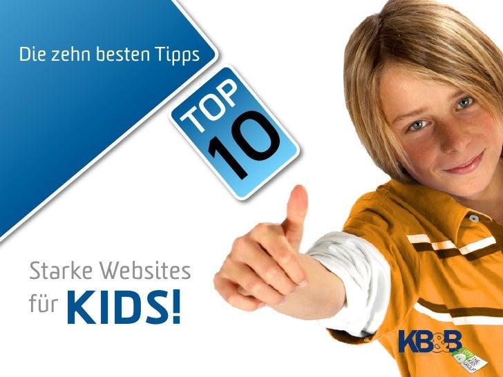 Die zehn besten Tipps                        O P                     T                         10  Starke Websites  für KI...