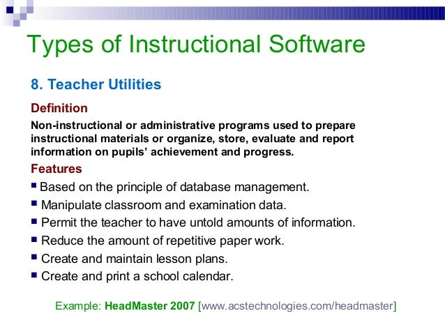 preparation and evaluation of instructional materials Instructional materials: 1 instructional materials may be defined as especially designed classroom tools which contain instructions to learners and teachers and which specify each increment of learning the content to be learned the techniques of presentation practice and use of that content.