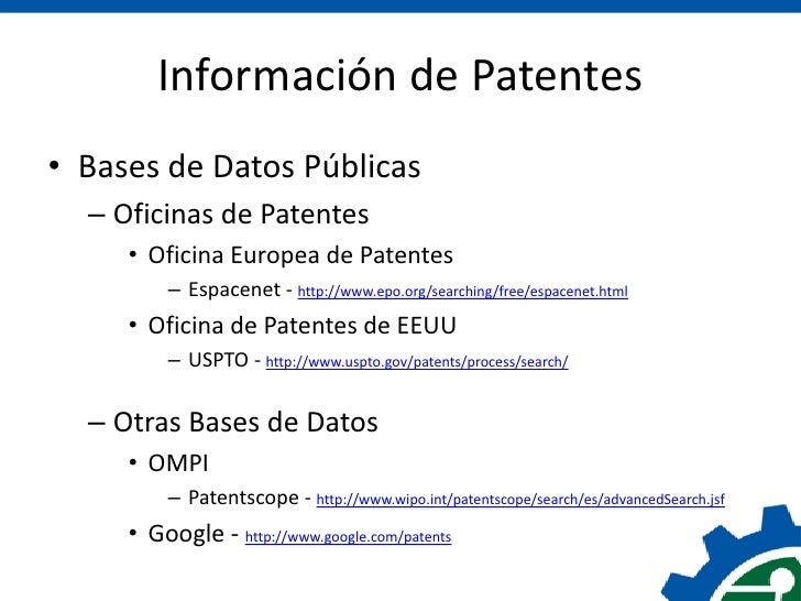 Patentes en costa rica cicr congreso innovaci n 2012 for Oficina de patentes