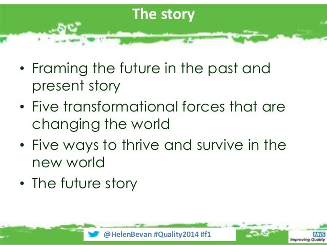 Transformational themes that will shake the world of healthcare improvement Slide 2