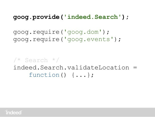 unused code removal - Indeed Search Resumes