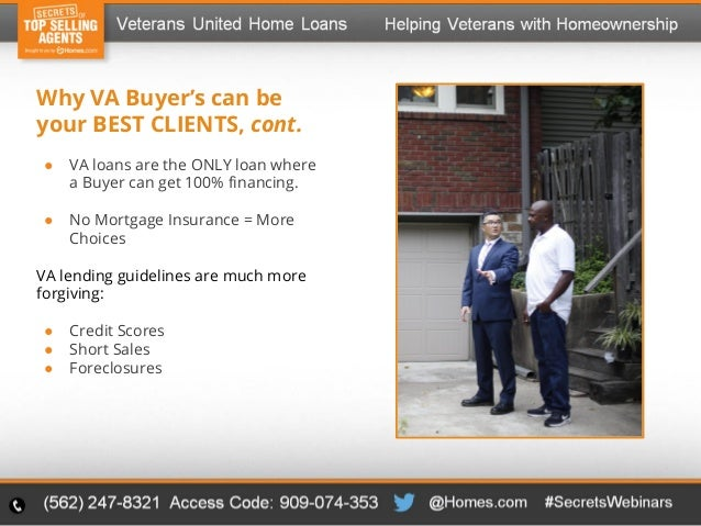 Francois Illas New Tradition: New Niche Market For Real Estate Agents. Helping Veterans
