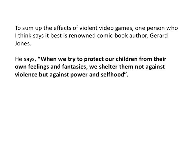 should teens be allowed to buy violent video games