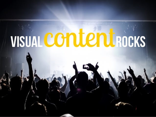 Visual content rocks  @stephanr78