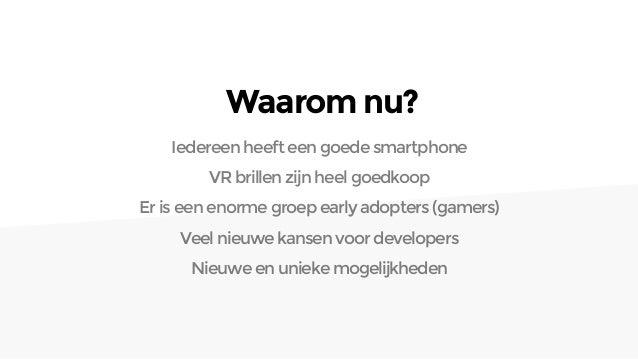 Virtual Health, VR in de zorg Slide 3