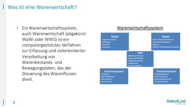 Die SelectLine Warenwirtschaft im Überblick Slide 2