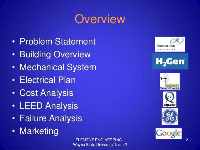 Wayne State University Team 2 Presentation (2009) Slide 2
