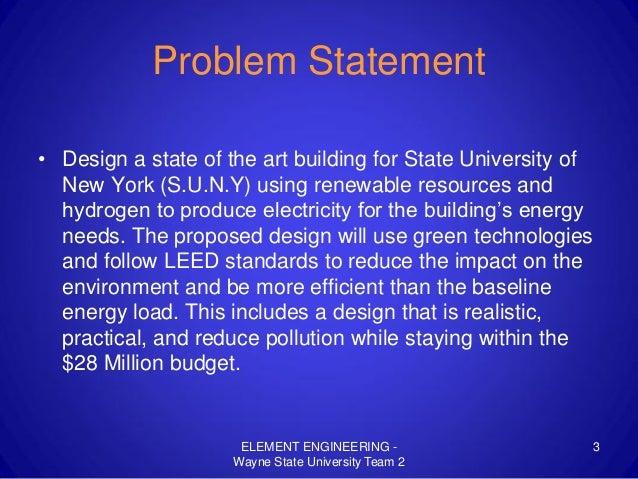 Wayne State University Team 2 Presentation (2009) Slide 3