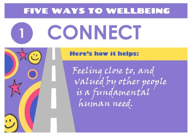 Feeling close to, and valued by other people is a fundamental human need. Here's how it helps: