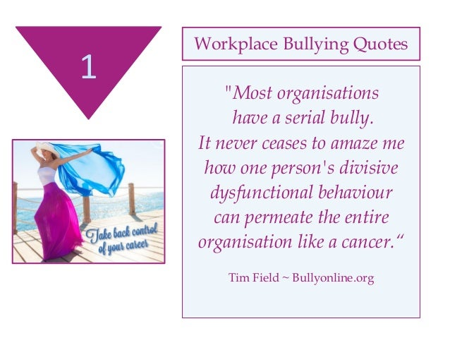 Workplace Bullying Quotes Impressive Workplace Quotes