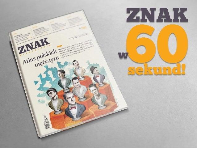 """""""Znak"""" nr 702 - ATLAS POLSKICH MĘŻCZYZN"""