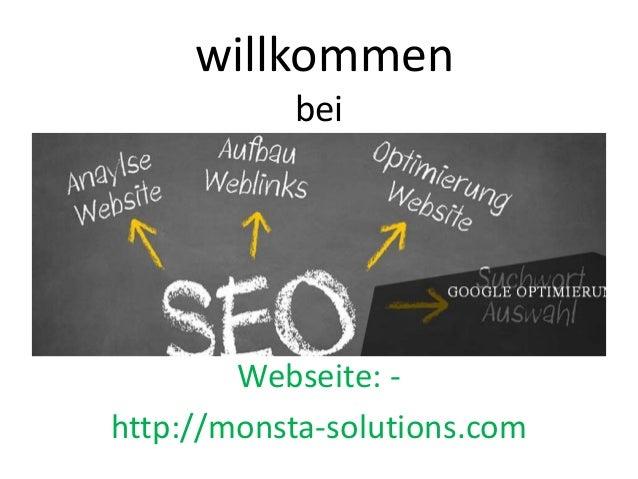 willkommen bei Webseite: - http://monsta-solutions.com