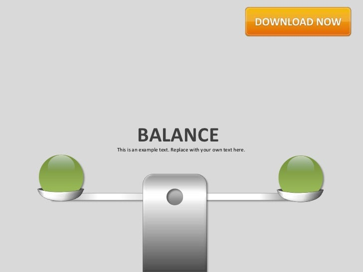 BALANCEThis is an example text. Replace with your own text here.