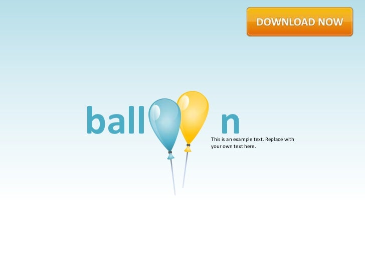 ball      n       This is an example text. Replace with       your own text here.
