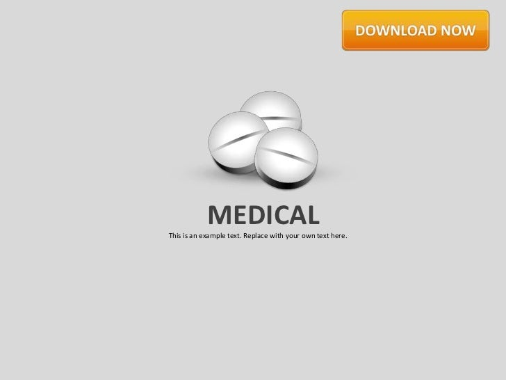MEDICALThis is an example text. Replace with your own text here.