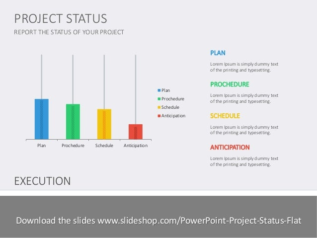 project status flat