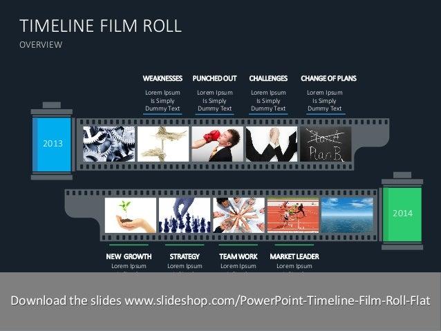Timeline Film Roll Flat
