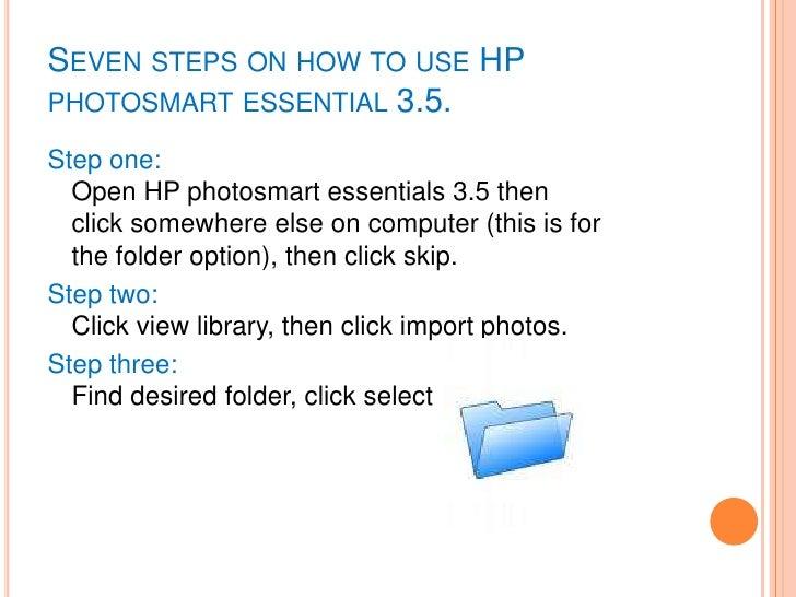 photosmart essential