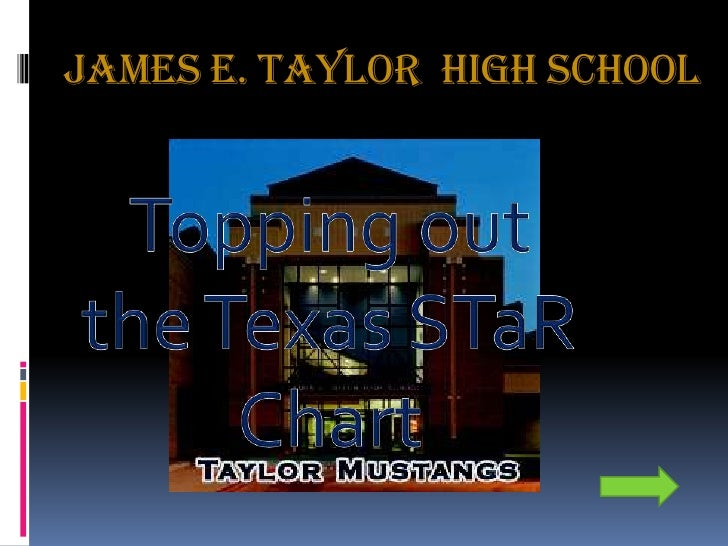 James E. Taylor  High School<br />Topping out the Texas STaR Chart<br />