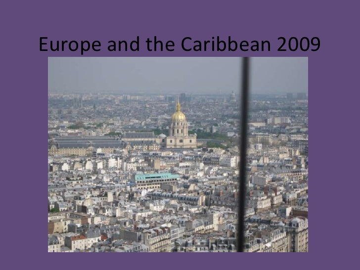 Europe and the Caribbean 2009<br />