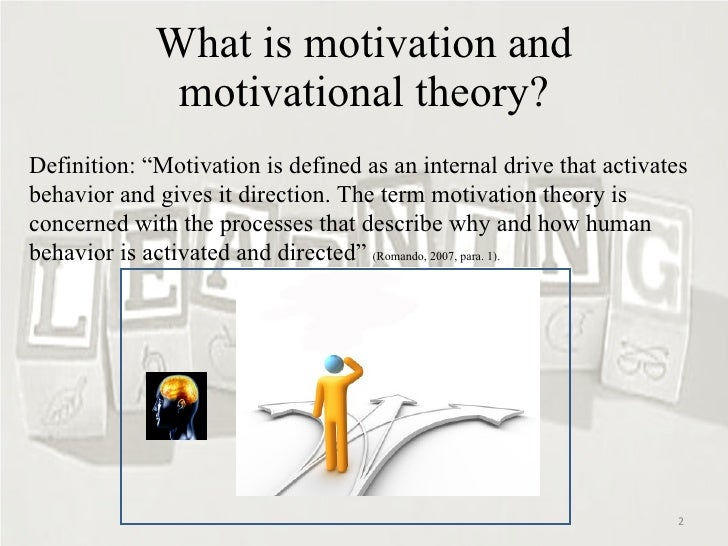 understanding what motivation is and what drives it The importance of employee motivation by: the first step you need to take is to understand what motivates your employees what drives them to their peak.