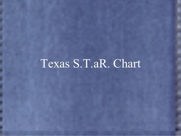 Texas S.T.aR. Chart