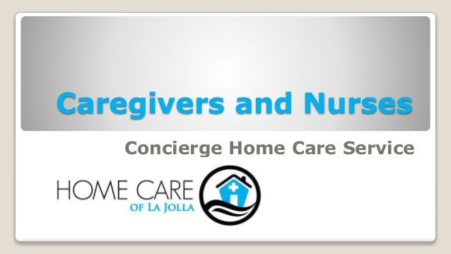 Caregivers and Nurses Concierge Home Care Service