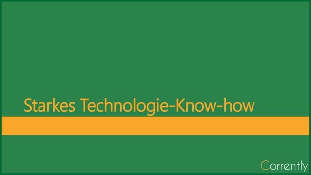 Starkes Technologie-Know-how