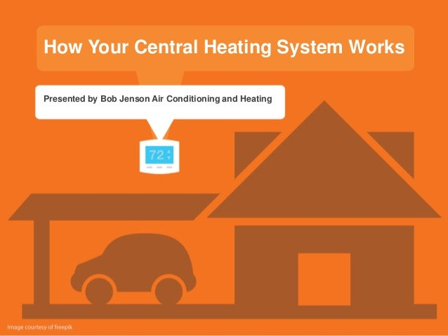 How Your Central Heating System Works Presented by Bob Jenson Air Conditioning and Heating