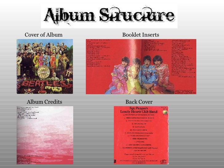 Cover of Album   Booklet Inserts Album Credits Back Cover