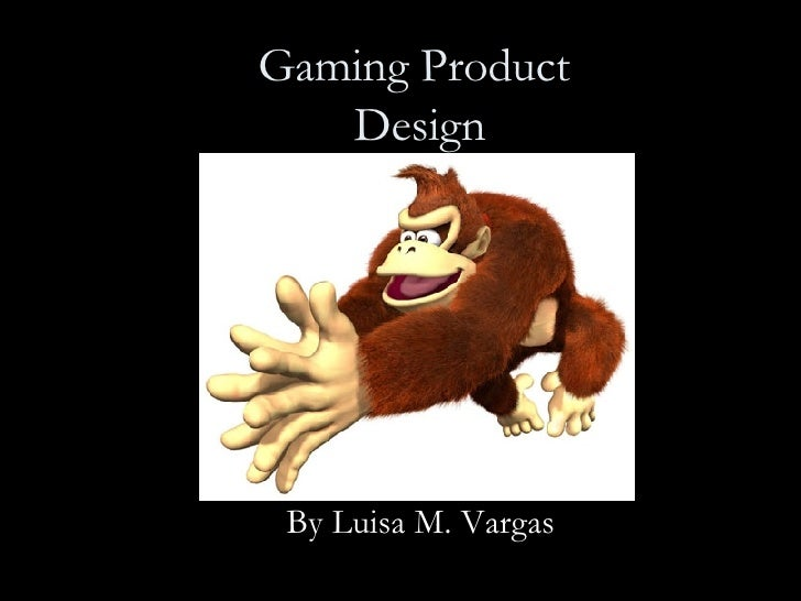 Gaming Product  Design By Luisa M. Vargas
