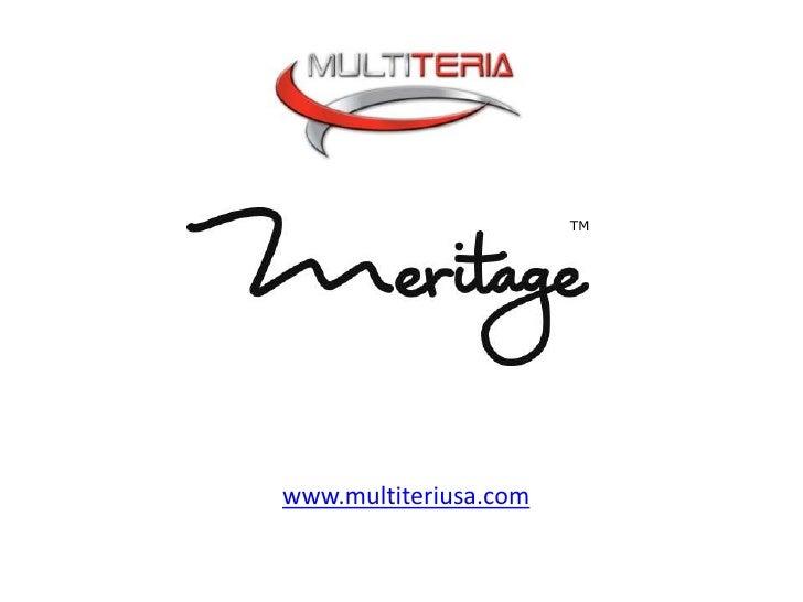 TM<br />www.multiteriusa.com<br />