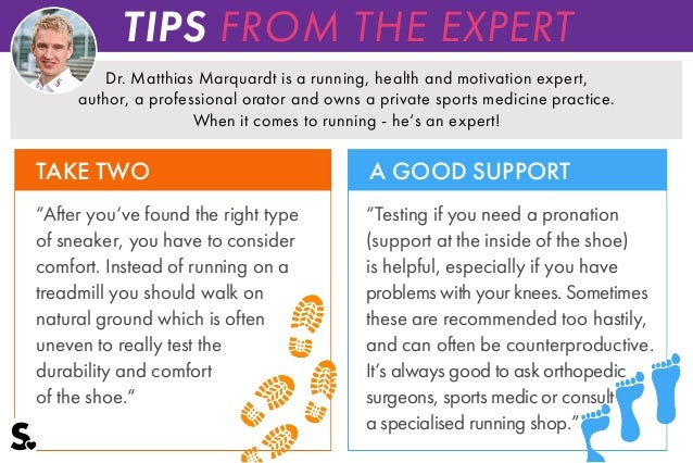 Choosing The Right Running Shoes  Tips