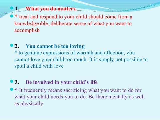 slide show what is a good parent