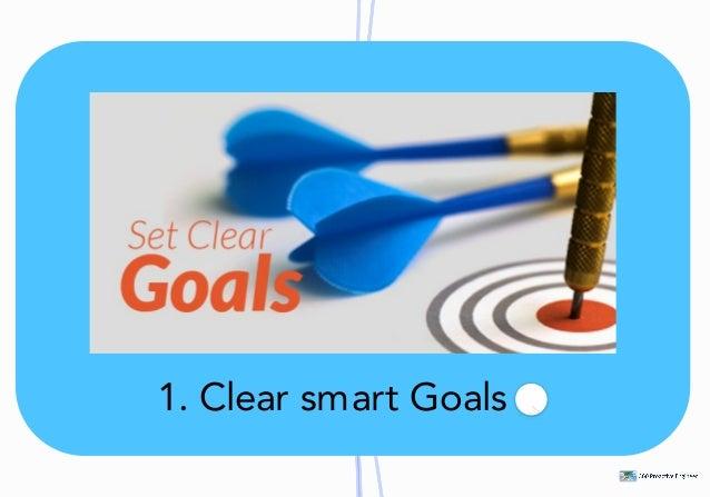 1.ClearsmartGoals