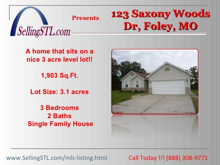 Call Today !!! (888) 308-9771  Presents A home that sits on a nice 3 acre level lot!! 1,903 Sq.Ft. Lot Size: 3.1 acres 3 B...
