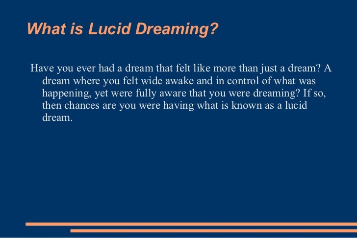 What is lucid dreaming get my free ebook with all you need to know fandeluxe PDF