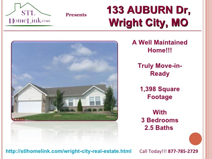 A Well Maintained Home!!! Truly Move-in-Ready 1,398 Square Footage With 3 Bedrooms 2.5 Baths  Call Today!!!  877-785-2729 ...