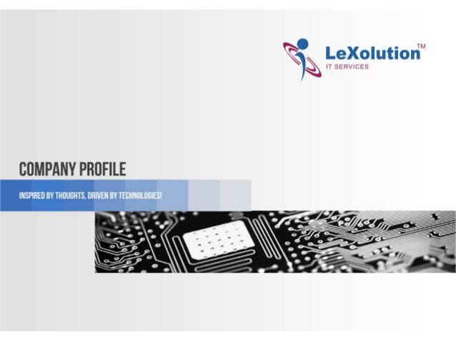 LeXolution IT Services - A One Stop Solution for all your Web Requirements