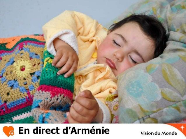 En direct d'Arménie