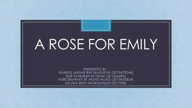 feminist criticism essay on a rose for emily