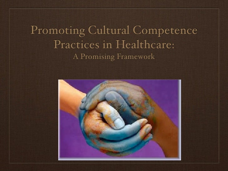 Promoting Cultural Competence     Practices in Healthcare:        A Promising Framework