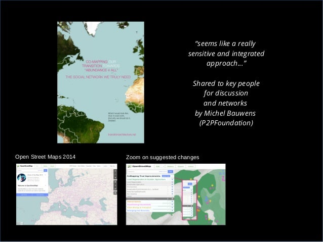Co-Mapping Our Transition Towards Abundance For All & The Social Network We Truly Need Slide 2