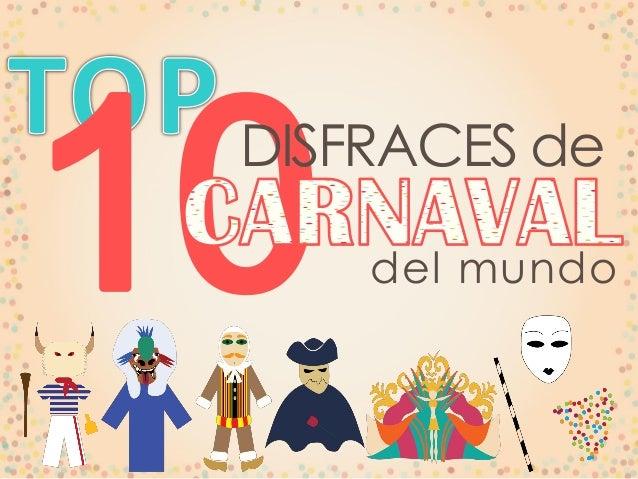 Disfraces de carnaval del mundo - Disfraces del mundo ...