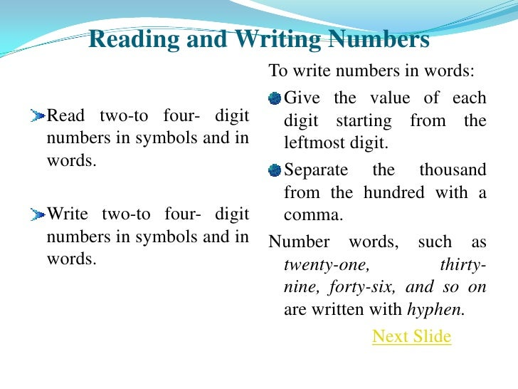 Writing Numbers In An Essay Paper Year - Service Thesis