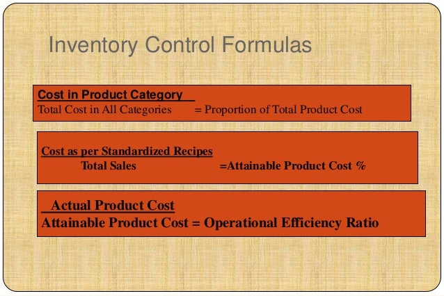 Cost control inventory control systems 19 forumfinder Image collections