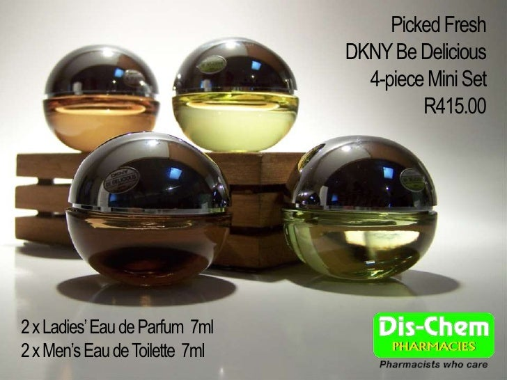 Picked Fresh                                 DKNY Be Delicious                                   4-piece Mini Set         ...
