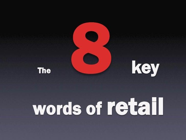 The        keywords of retail
