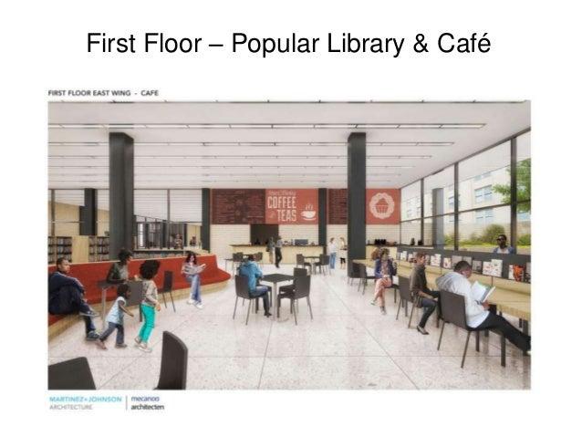 First Floor – Popular Library & Café