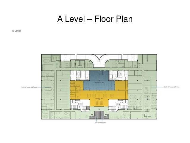 A Level – Floor Plan